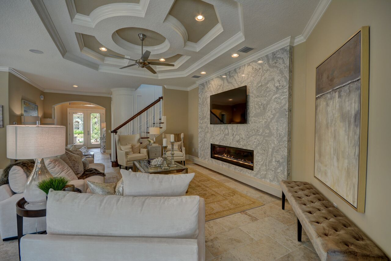 ... Florida Fine Home Design Furniture Palm Coast Featured House Of The  Week Was The Showcase Home In Flagler ...
