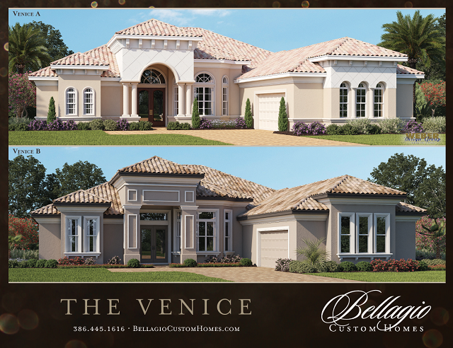 Bellagio Homes Venice model