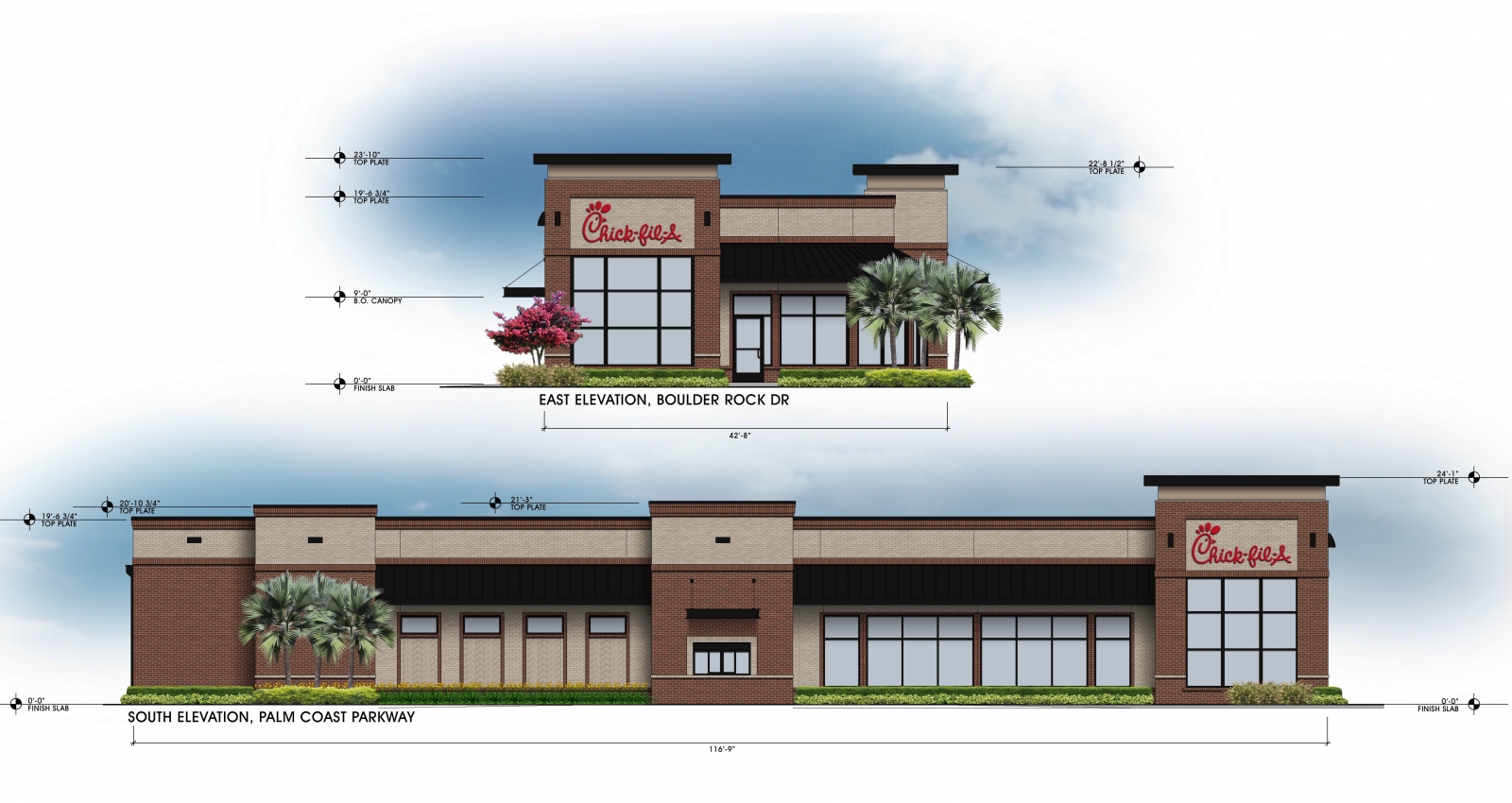 Property Development Chick : Development order for new chick fil a approved by palm