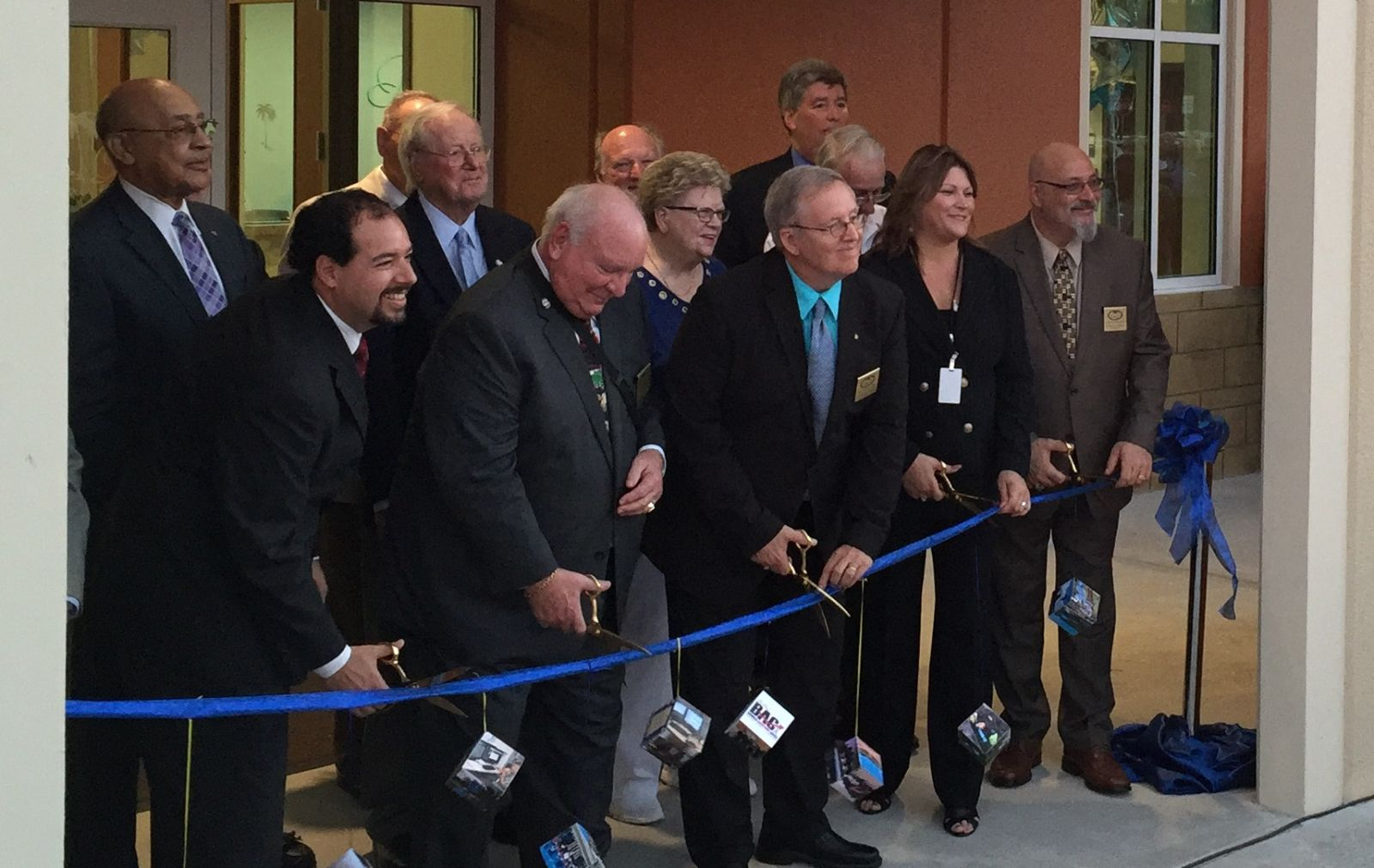 Palm Coast City Hall ribbon cutting