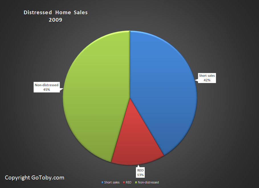 Distressed Flagler Home Sales 2009