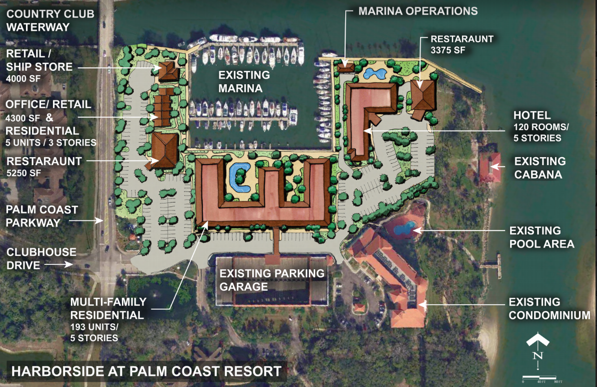 Harborside at Palm Coast Resort - Jacoby site plan
