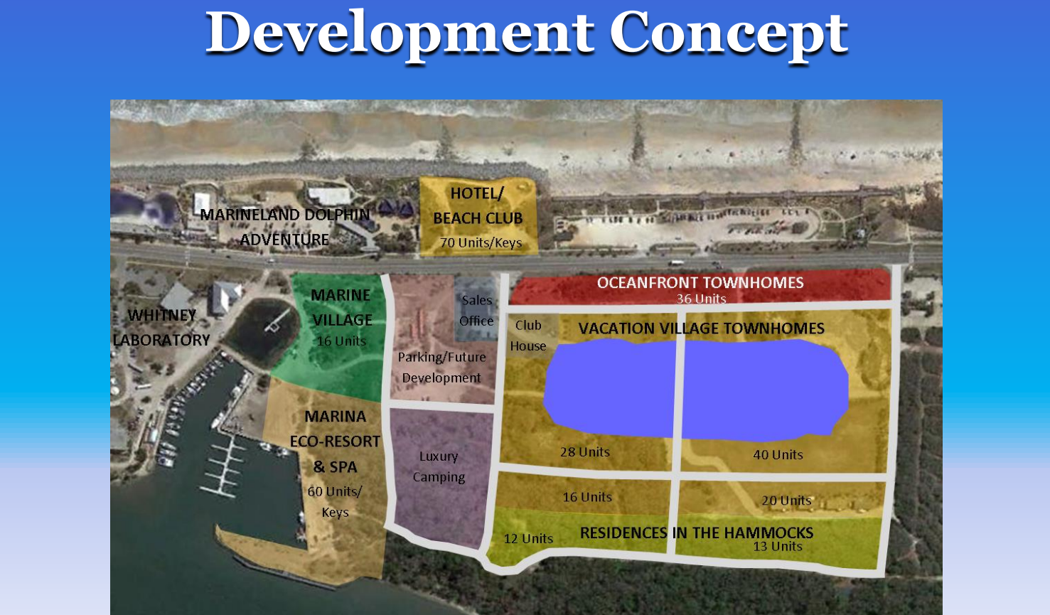 Marineland, Florida development concept