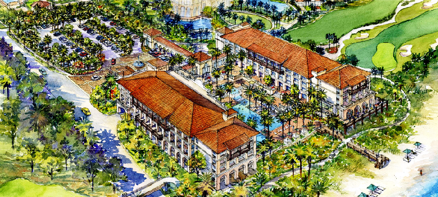 proposed new lodge at hammock beach club in palm coast hammock beach unveils plans for proposed new oceanfront lodge and      rh   gotoby
