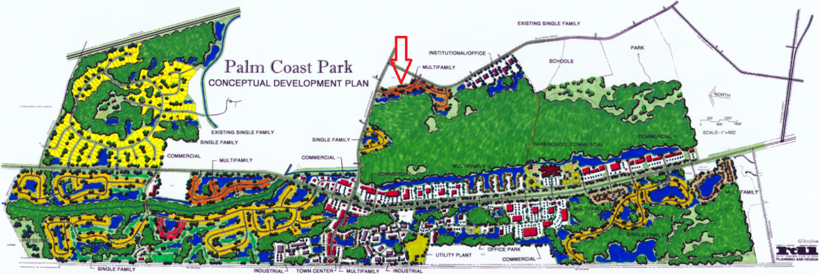 Palm Coast Park Development Plan