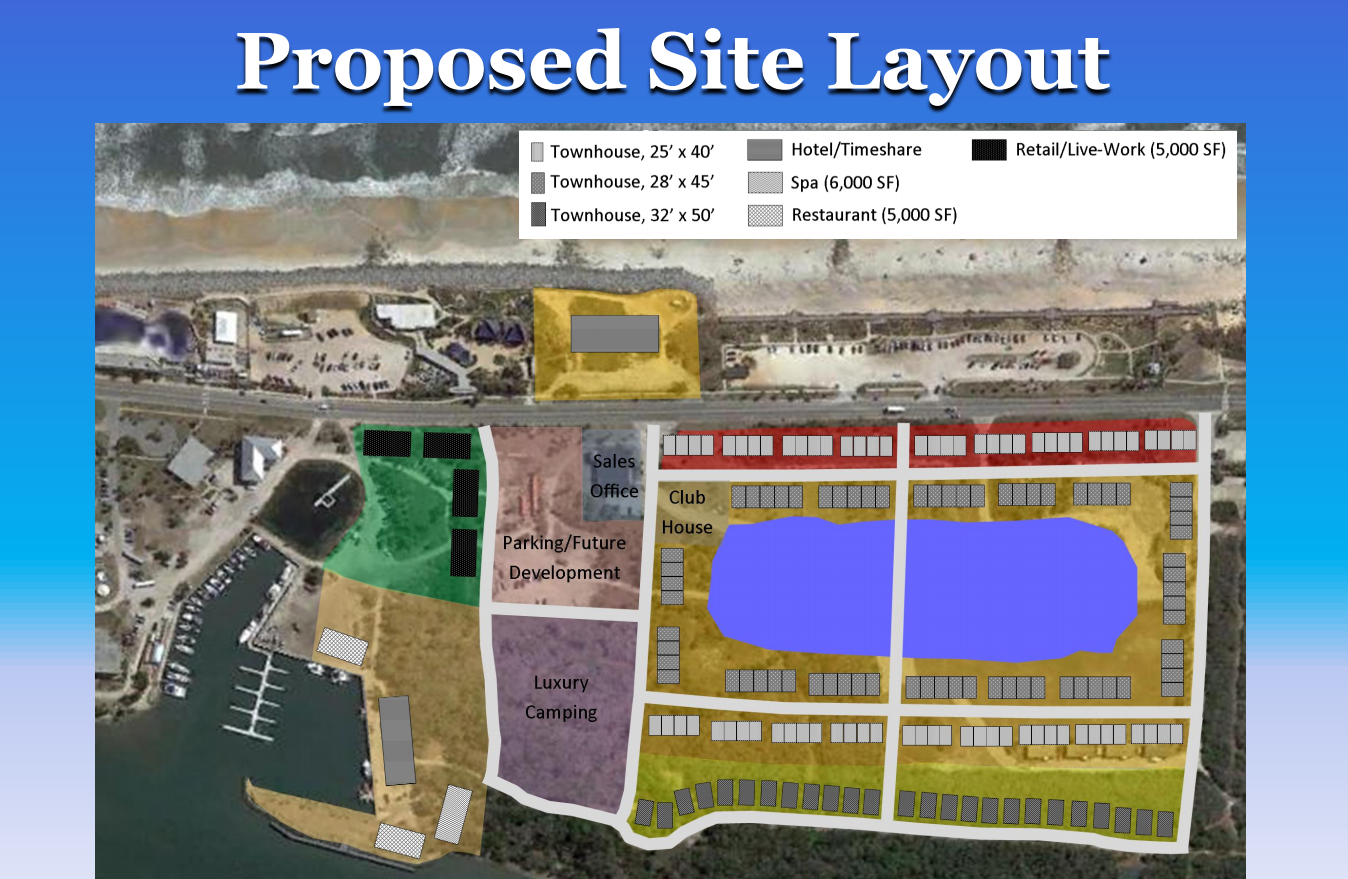Marineland proposed siteplan
