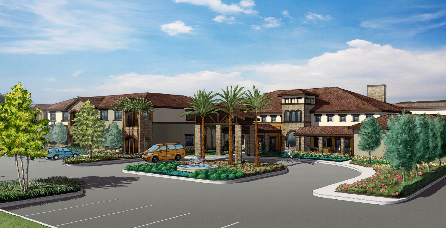 new assisted living center gets site plan approval from palm coast